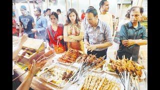 পুরান ঢাকার খাবারে জমজমাট নতুন ঢাকার ইফতার বাজার | Iftar Bazar | Somoy TV