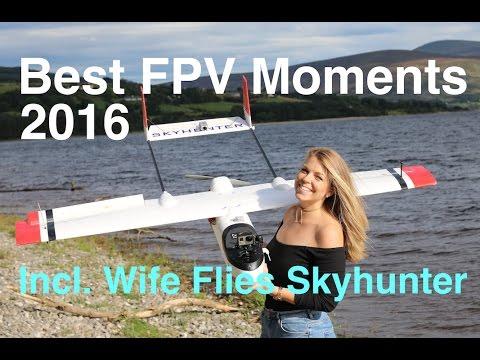 Best FPV Moments 2016 - Skyhunter / Skywalker / Falcon Evo Wing - UCfWiPjuQnYm85FUevz57LZA