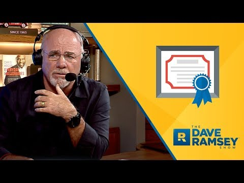 I'm Trying Not To Say This Is STUPID - Dave Ramsey Rant