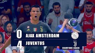 AJAX vs JUVENTUS   UEFA CHAMPIONS LEAGUE QUARTER FINAL ● FIFA19 UCL Predict ( PS4 Pro )