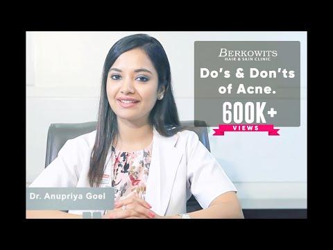 Acne Prone Skin Care Routine  | Acne Do's and Don'ts by Doctor Anupriya Goel (Part 2) - UCqIbObitFkT9TReYaBJYsAA
