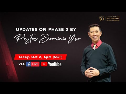 Trinity Christian Centre - Phase 2 updates by Pastor Dominic
