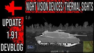 Night Vision Devices and Thermal Sights - Update 1.91 Devblog - War Thunder
