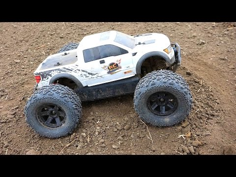 RC ADVENTURES - FORD RAPTOR hpi SAVAGE XS FLUX MiNi MONSTER Truck w/ BiG JOE TiRES - UCxcjVHL-2o3D6Q9esu05a1Q