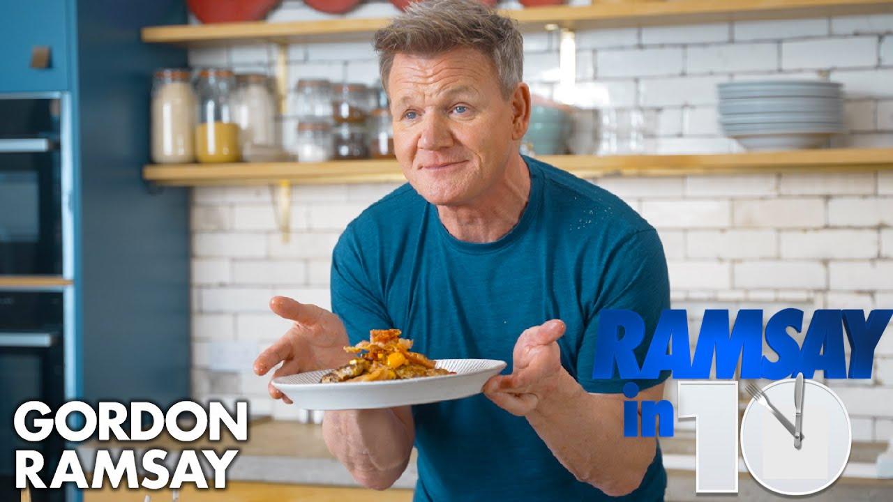 Gordon Ramsay Makes a Pork Dish in UNDER 10 Minutes   Ramsay in 10