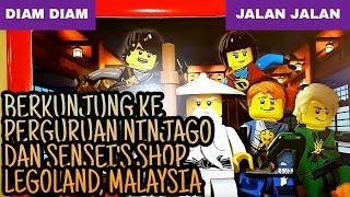 Berkunjung Ke Perguruan Ninjago Dan Sensei' Shop Legoland, Johor Bahru, Malaysia