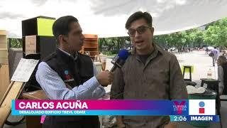 Irregularidades en el desalojo del edificio Trevi en la CDMX | Noticias con Yuriria Sierra