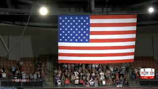 WATCH: EXPLOSIVE National Anthem at TRUMP Rally in Manchester, NH