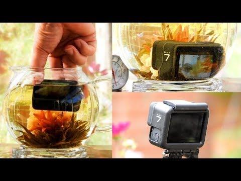 GoPro Hero 7 Black - Really 100% waterproof? Shaky Video is Dead! HYPERSMOOTH