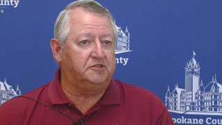 Raw Video: Spokane County Commissioner Al French talks about new law requiring five commissioners