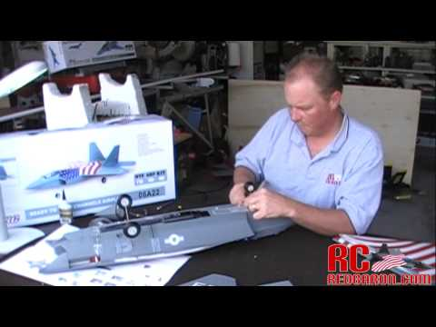 "Exceed RC F-22 Raptor RC Jet ""How-To-Build"" Video - UCJZL9VSp8g5rRQXeumrEOEg"