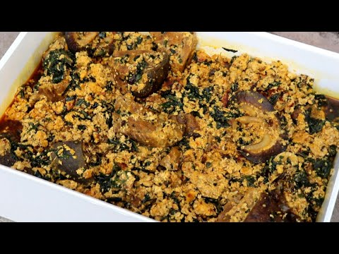 How to cook  Nigerian egusi Soup | With Goat Meat And Snail.