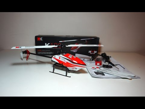 XK K120 Brushless 3D Helicopter 🚁 BNF - Quick Introduction & Test Flight - UCWgbhB7NaamgkTRSqmN3cnw