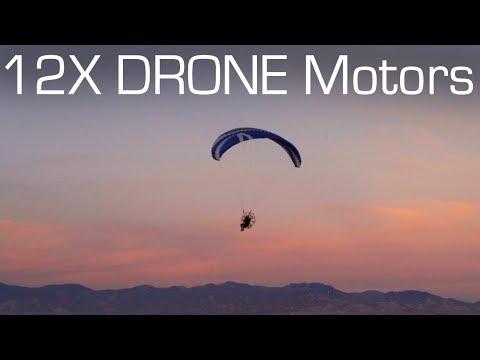 DIY Electric PARAMOTOR with 12 Drone Motors! - RCTESTFLIGHT - UCq2rNse2XX4Rjzmldv9GqrQ