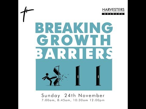 Breaking Growth Barriers  Pst Bolaji Idowu  Sun 24th Nov, 2019  2nd Service
