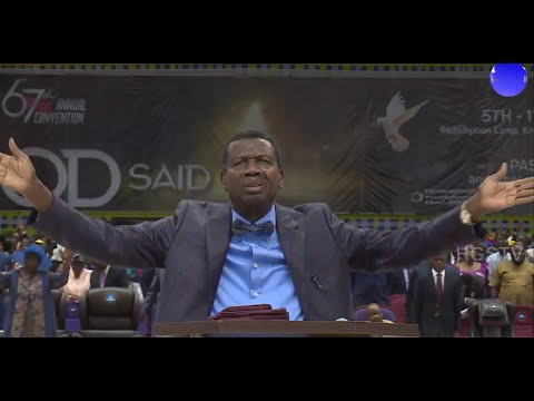 PASTOR E.A ADEBOYE SERMON AUGUST HOLY COMMUNION  SERVICE