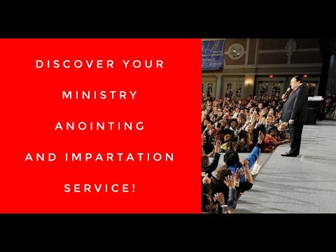 Discover Your Ministry Anointing And Impartation Service LIVE from Legacy!