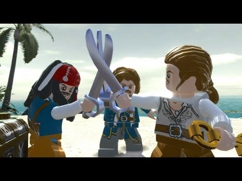 LEGO Pirates of the Caribbean Walkthrough Part 9 - Isla Cruces (Dead Man's Chest) - default