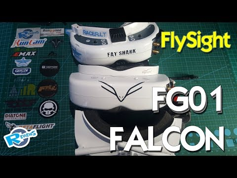 Flysight Falcon FG01 - almost perfect fpv goggles for FPV racers - UCv2D074JIyQEXdjK17SmREQ