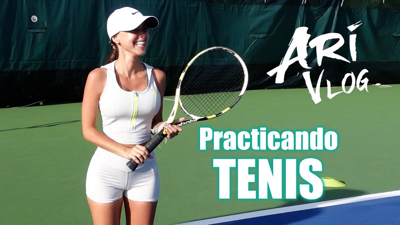 Practicando TENIS – Ari Vlog