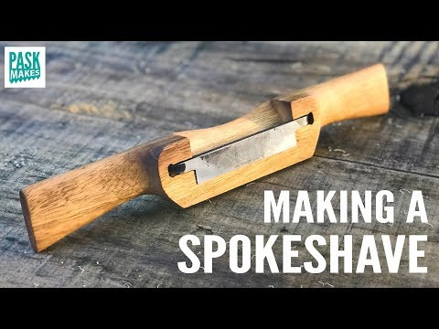 Homemade Spokeshave and Blade - UCNyGbxoEo6CQvaRVEvItxkA