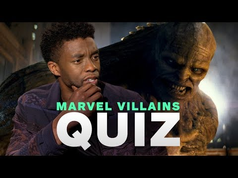 Marvel's Avengers: Infinity War Cast Take the Ultimate MCU Villains Quiz - UCKy1dAqELo0zrOtPkf0eTMw