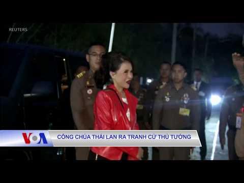 Công chúa Thái Lan ra tranh cử Thủ tướng (VOA)