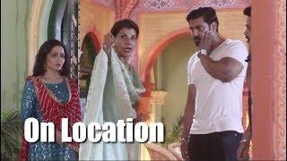 Choti Sarrdaarni | Locked up Meher manages to run away | On Location | Nimrit Kaur Ahluwalia