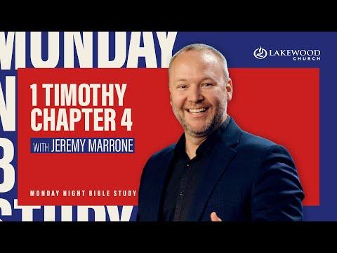 1 Timothy Chapter 4  Jeremy Marrone (2020)