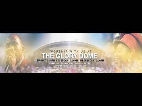 FROM THE GLORY DOME: POWER COMMUNION SERVICE  31.07.2019