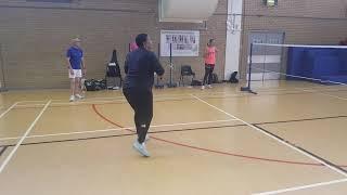 Badmington Coaching With Shirley Onyebuashi One On One Instructions