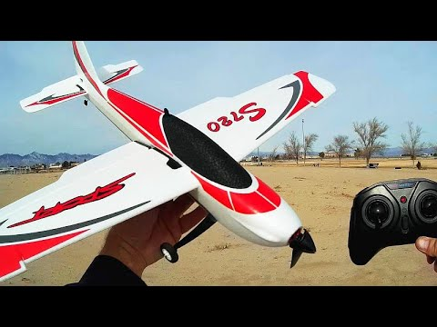 OMPHobby Sunnysky S720 Brushless Four Channel Stunt Trainer Plane Flight Test Review - UC90A4JdsSoFm1Okfu0DHTuQ