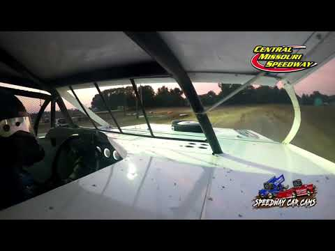 #20 Rodney Sanders - A Modified - 7-4-2021 Central Missouri Speedway - In Car Camera - dirt track racing video image