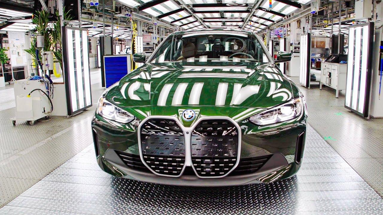 BMW Car Factory 2021 – BMW i4 Production Line