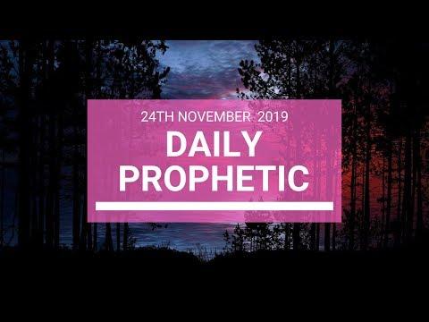 Daily Prophetic 24 November Word 5