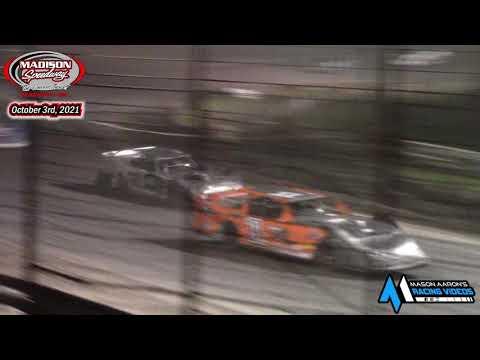 Madison Speedway WISSOTA Super Stock A-Main (Lou's Madtown Showdown Night #2) (10/3/21) - dirt track racing video image