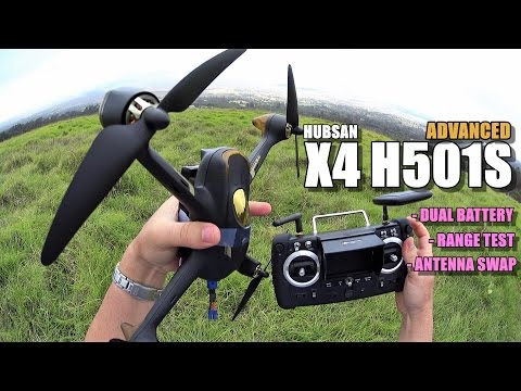 HUBSAN X4 H501S ADVANCED - Part 2 - [Dual Battery Mod / Antenna Swap / Range Test] - UCVQWy-DTLpRqnuA17WZkjRQ