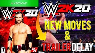 WWE 2K20: NEW MOVES LISTED & WHERE IS WWE 2K20 TRAILER?