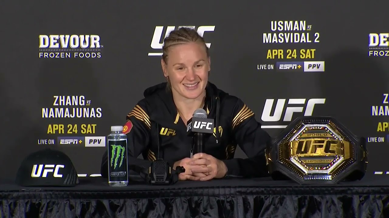 UFC 261: Valentina Shevchenko Post-fight Press Conference