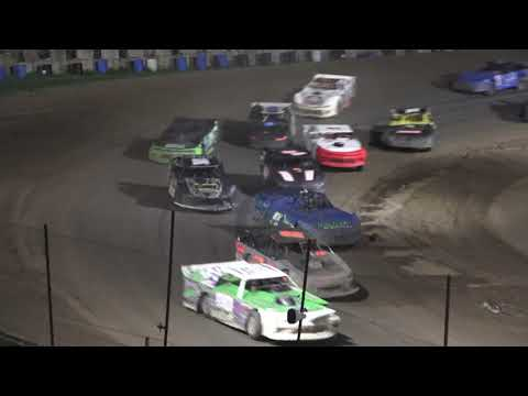 Pro Stock A-Feature at Crystal Motor Speedway, Michigan on 09-05-2021!! - dirt track racing video image