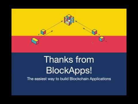 BlockApps: Build a blockchain application in 5 minutes - default