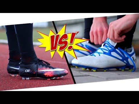 6580c14cc92 CR7 VS Messi - Nike Mercurial Superfly CR7 vs. Adidas Messi 15.1 - Test by  Germankickerz