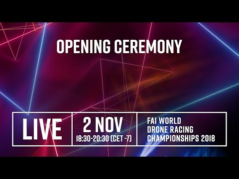 FAI World Drone Racing Championships: LiveStream from the Opening Ceremony, Shenzhen - UCQmYxBjO_6A7s8q71gcP2cQ