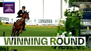 Alex Granato & Carlchen W with high pace in Wellington | Longines FEI Jumping World Cup™ NAL 2018/19