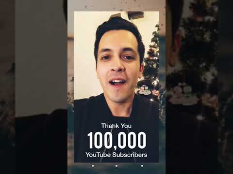 Thank You: 100k Subscribers!