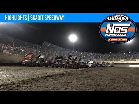 World of Outlaws NOS Energy Drink Sprint Cars Skagit Speedway, September 5, 2021 | HIGHLIGHTS - dirt track racing video image