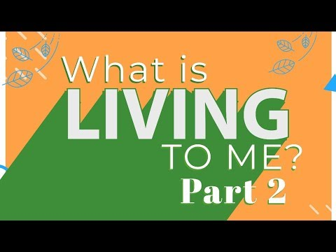 What is Living To Me Part 2 - MESSAGE ONLY