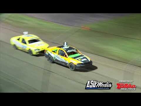 Junior Sedans: A-Main - Lismore Speedway - 24.04.2021 - dirt track racing video image