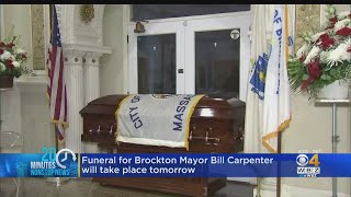 Hundreds Mourn Mayor Carpenter At Brockton City Hall