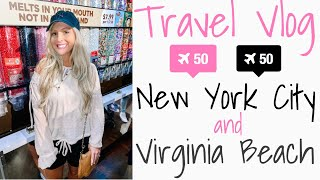 NYC & VIRGINIA BEACH TRAVEL VLOG | PART III | TRAVEL WITH ME